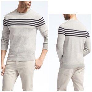 Banana Republic Stripe Supima® Cotton sweater